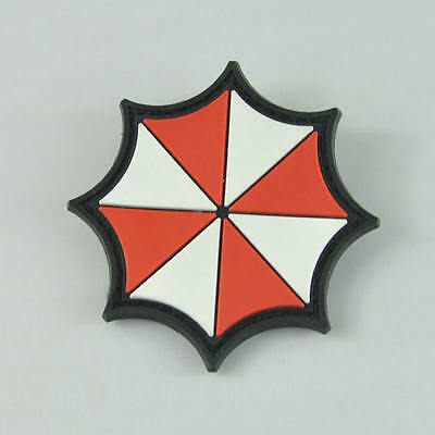 Resident Evil Umbrella 3D Rubber PVC Moral Military Tactical SWAT Patch