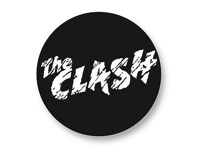 "Pin Button Badge Ø25mm 1"" Logo The Clash Groupe Band Punk Rock"