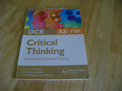Ocr critical thinking