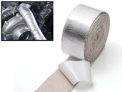Self Adhesive Thermoshield Reflective Heat Shield Heatshield Tape Wrapping Wrap