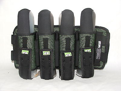 Laysick Magnetic PRO Paintball Harness 4+3 Lime