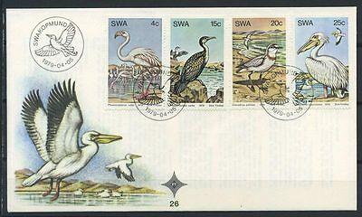 15-11-00439 - South West Africa 1979 Mi.  458-461 FDC 100% Waterfowl