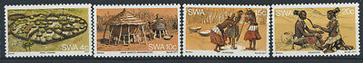 15-11-00218 - South West Africa 1977 Mi.  431-434 MNH 100% Life and tradition of