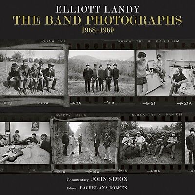 The Band Photographs: 1968-1969 Book Hardcover NEW 000146104
