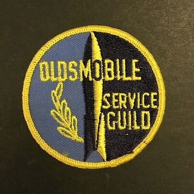 Vintage Oldsmobile Service Guild Patch - VS31-118