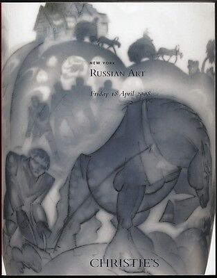 Christie's Russian Works of Art 10.04.08 Russische Kunst