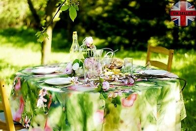 STAIN RESISTANT 3D luxury Tablecloth rectangular or round, perfect gift !