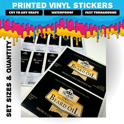 Printed Vinyl Stickers | Multiple PREMIUM Finishes | Matt, Static Cling, Clear