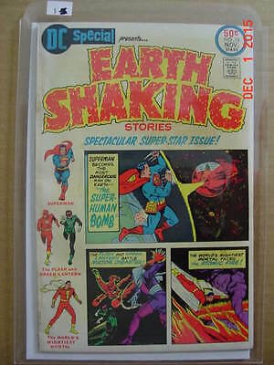 DC Special # 18    1975   Earth Shaking Stories -- Superman- Flash