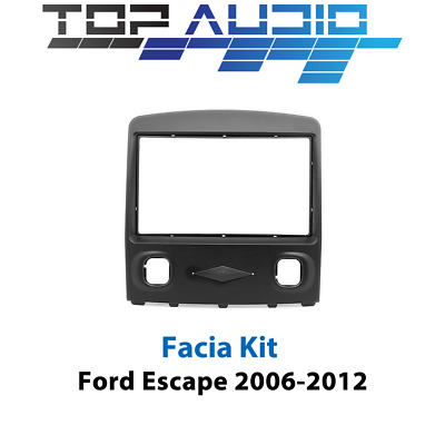 Ford Escape radio stereo Double Din Radio Facia panel dash trim Fascia Kit