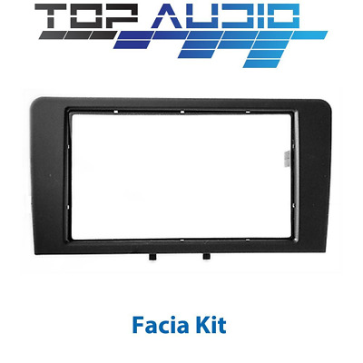 Audi A3 8P car stereo radio Double 2 Din fascia dash panel facia kit trim