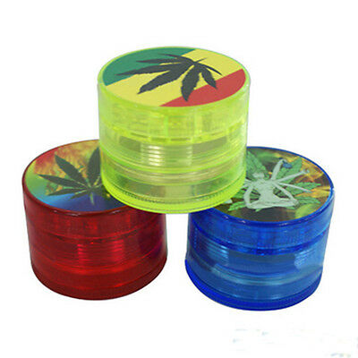 2Inch Leaf Herbal Herb Tobacco Grinder Smoke Spice Crusher Hand Muller New