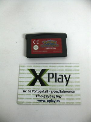 Game Boy Advance Pokemon Equipo de rescate Rojo Pal España Solo Cartucho