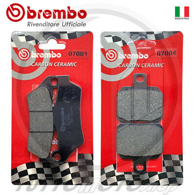 Pastiglie Freno Brembo Carbon Mbk Skyliner 150 2000 2001 2003 2004 Ant.+Post