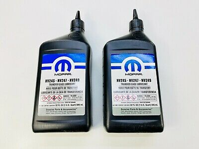 2 x Quadra-Trac Transfer Case Fluid NV247 ALL JEEP'S with Quadra-Trac WJ 99-04