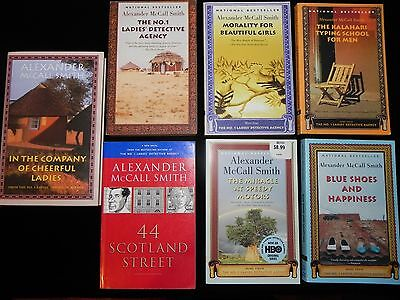 Alexander McCall Smith Set of 7 Books