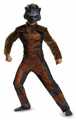 Guardians of the Galazy Rocket Raccoon Boys Deluxe Costume