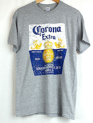 New Corona Extra Grey T Shirt Genuine Apparel Size Xxl