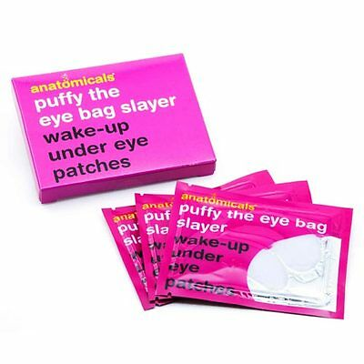 PUFFY THE EYE BAG SLAYER Anatomicals Wake Up Under Eye  PATCHES - Pack of 3
