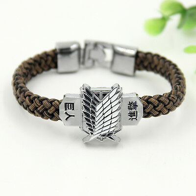 Armband Reif Anime Shingeki No Kyojin Attack On Titan Cosplay Unisex Geschenke