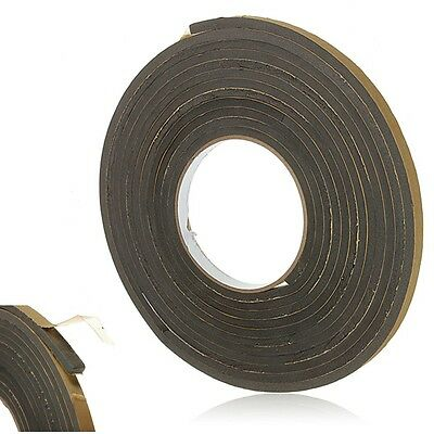 5M Self Adhesive Weather Draught Excluder Door Sealed Strip Roll Window Tape