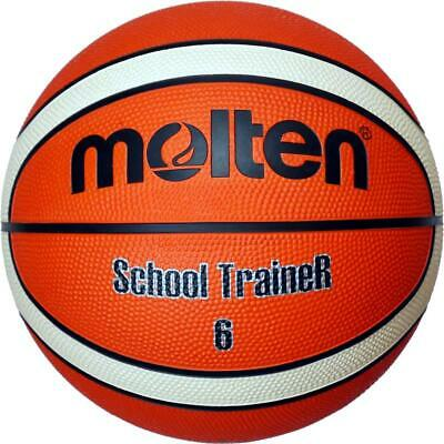 Molten Basketball Trainingsball SchoolTraineR Orange Gr. 6