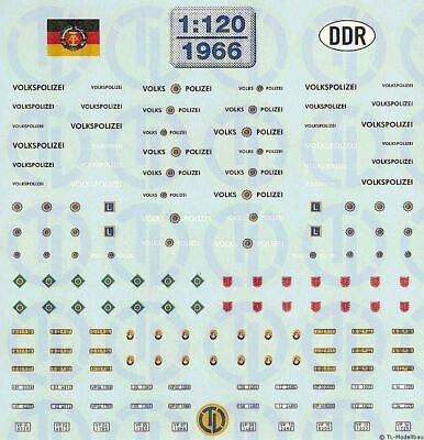 1966 - Decals Diverse DDR-Organe 1:120