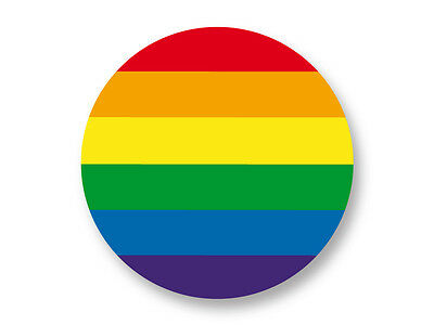 "Pin Button Badge Ø25mm 1"" Drapeau Flag Gay Pride Rainbow LGBT Homo"