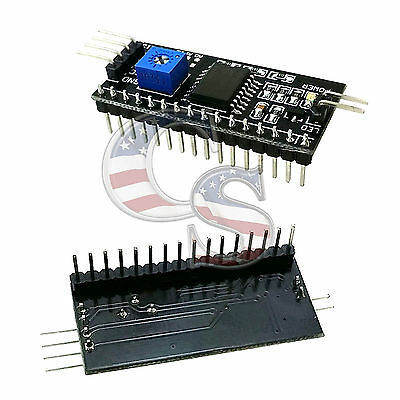 SMD IIC/I2C/TWI Serial Interface Board Module Port For Arduino 1602LCD Display