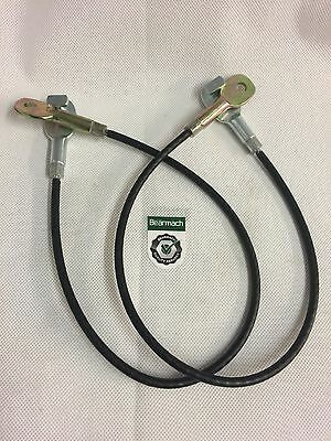 Bearmach Land Rover Defender 90, 110, Tailgate Cable Straps x 2,Tailgate Support
