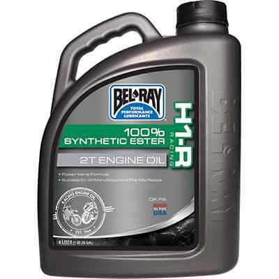 Bel-Ray H1-R Racing 100% Synthetic Ester 2-Stroke Oil 4 Liter