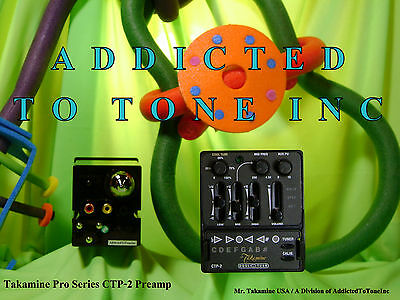 Takamine CTP 2 Cool Tube Acoustic Guitar PreAmp NEW with How To Use Tutorial