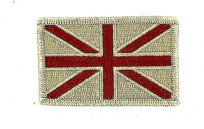 Patch ecusson brode thermocollant drapeau uk anglais royaume uni airsoft camo