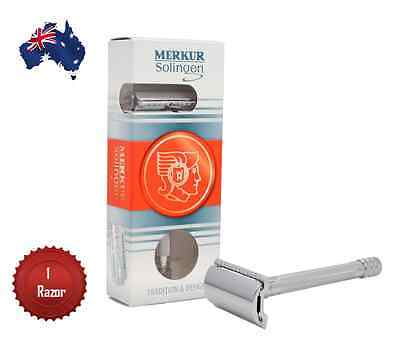 Merkur 23C Long Handle Double Edge Safety Razor  - Aus Seller
