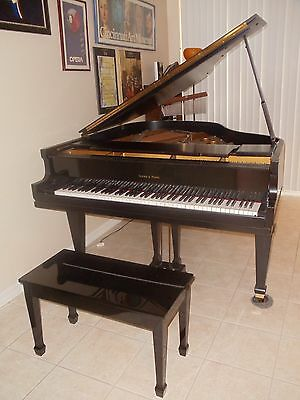 "Ivers and Pond Princess Grand Style 94 Antique Piano  (5'8"") circa 1920's"