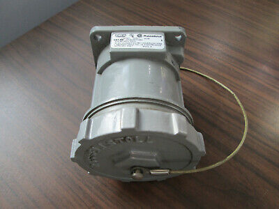 Russellstoll DS3404FRAB0 Receptacle (30 Amp, 480 Volt, 3 Pole, 4 Wire)