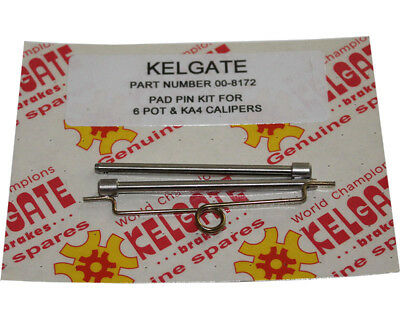 Kelgate 4 Pot Brake Pin Set UK KART STORE