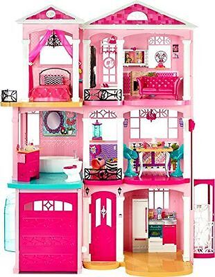 Barbie House Dream 3 Pink Doll Story Furniture Mattel Play Girls New Accessories