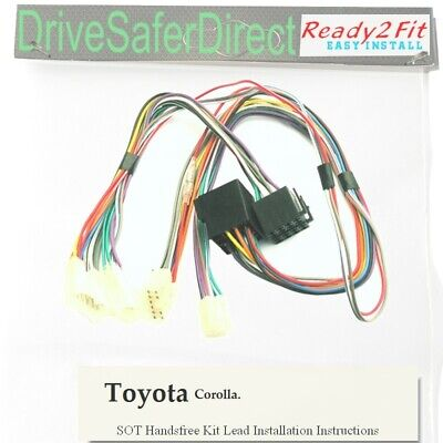 SOT-7640-04 Cable,adaptor for Parrot CK3100 ,CK3000/Toyota Corolla without JBL