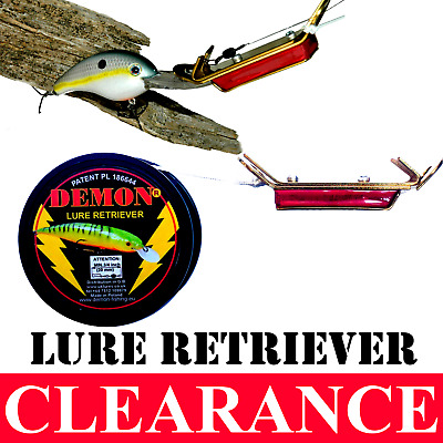 Lure fishing RETRIEVER Demon Soft lures Gunki Rapala Predator Tackle Dropshot