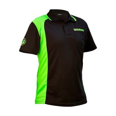 WINMAU WINCOOL 2 - DARTS POLO SHIRT - MOISTURE WICKING DRY TECH, UNISEX Win Cool
