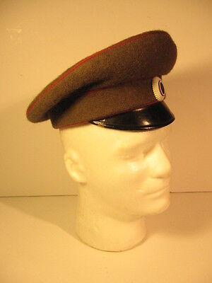 Original and Rare Bulgarian Army WWII NCO Officer Visor Hat Size 55