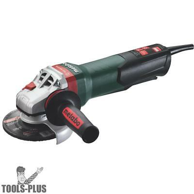 "Metabo 600468420 4-1/2"" - 5"" Angle Grinder w/ Lock On WEV 15-125 QUICK New"