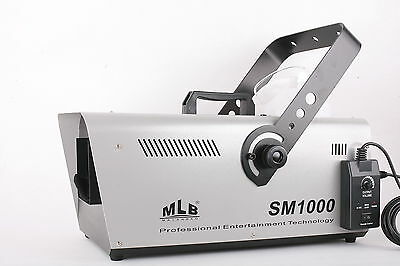 MLB 1000W Snow Machine Christmas Party Wedding Snowflake Effect + Volume Control
