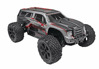 Redcat Racing Blackout XTE Pro 1/10 Scale Brushless Truck 4x4 RTR - Silver