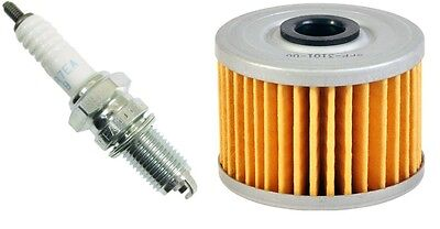PLUG TUNE UP KIT FOR HONDA FOURTRAX FOREMAN 400 FW 450 ES S FE EMGO OIL FILTER