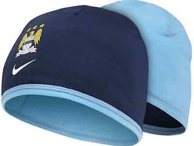 Adult Unisex Nike Manchester City Reversible Dri-Fit Beanie Hat