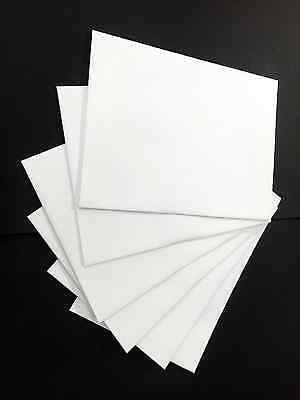 A2, A4, A6, A7 Bright White Opaque Announcement Envelopes - Various Quantities