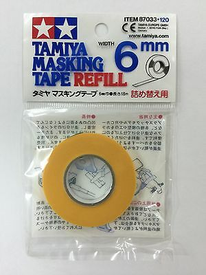 Tamiya Masking Tape Refill Finishing Materials 6mm 10mm 18mm 40mm Made in Japan