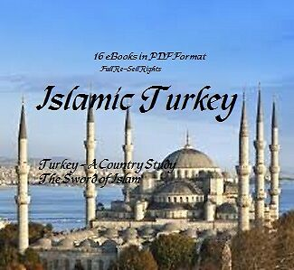 CD - Islamic Turkey Collection - 16 eBooks (Resell Rights)